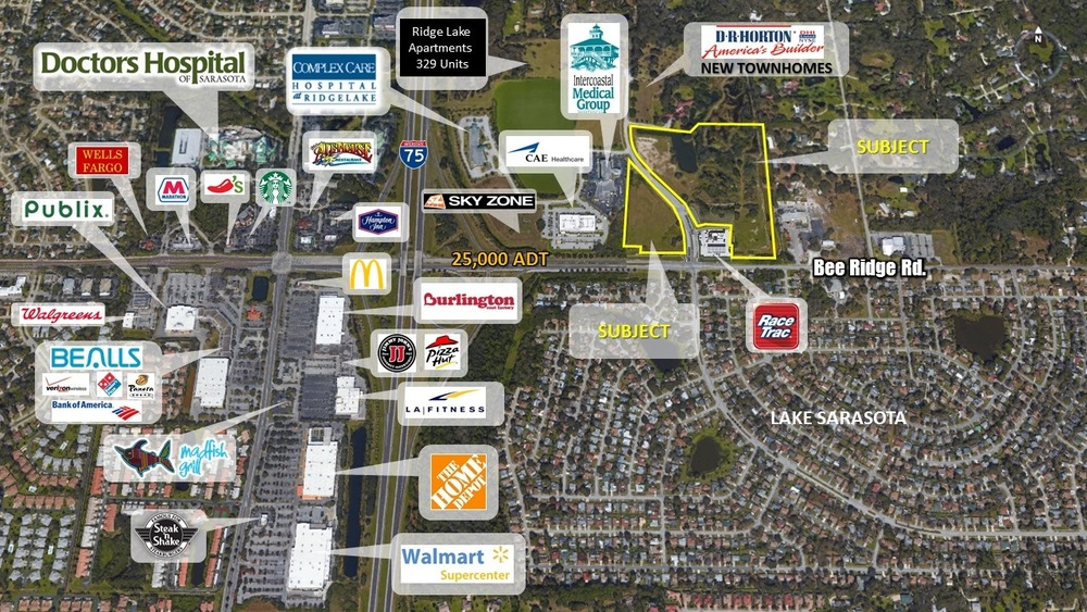 6551 & 6651 Bee Ridge Road, Sarasota, FL 34240