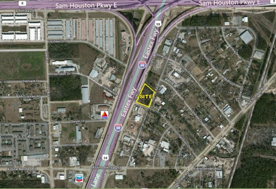 +/- 2.23 Acres on Highway 59 N, just south of Beltway 8