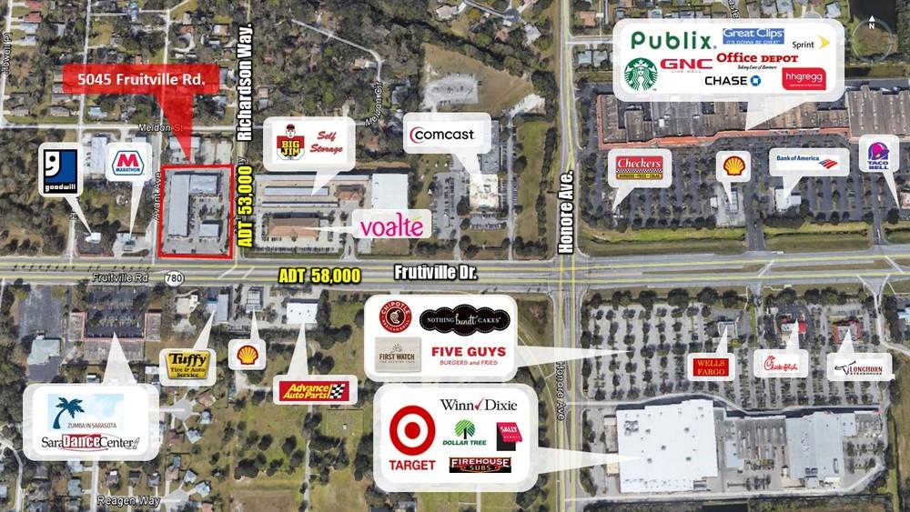 Retail Map Cloe