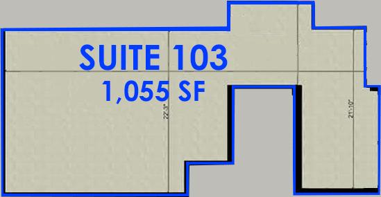 Suite 103 Floorplan