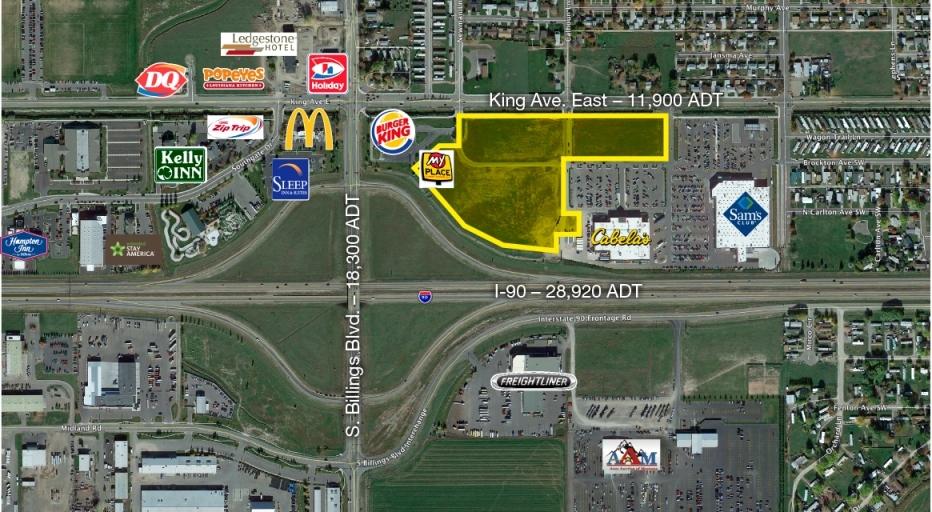 .98 Acres 4550 King Avenue East  Lot 4A