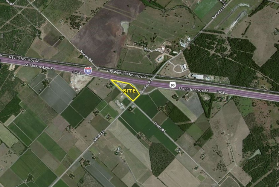 +/- 9.226 Acres For Sale on Interstate 10 Frontage Road