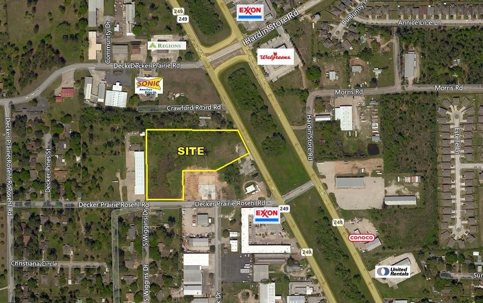+/- 2.26 Acres of Land on Decker Prairie Rosehill Rd & SH-249