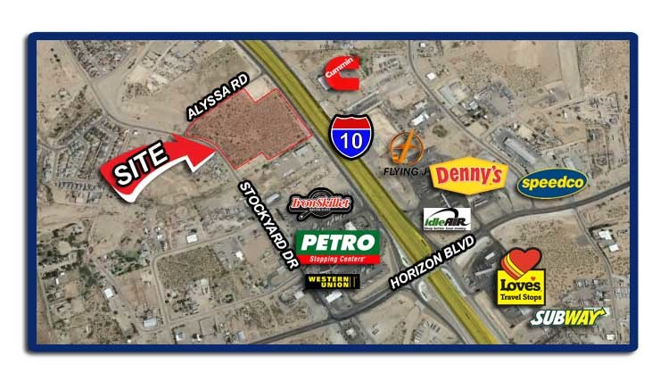 14 Acres on I-10 FOR SALE