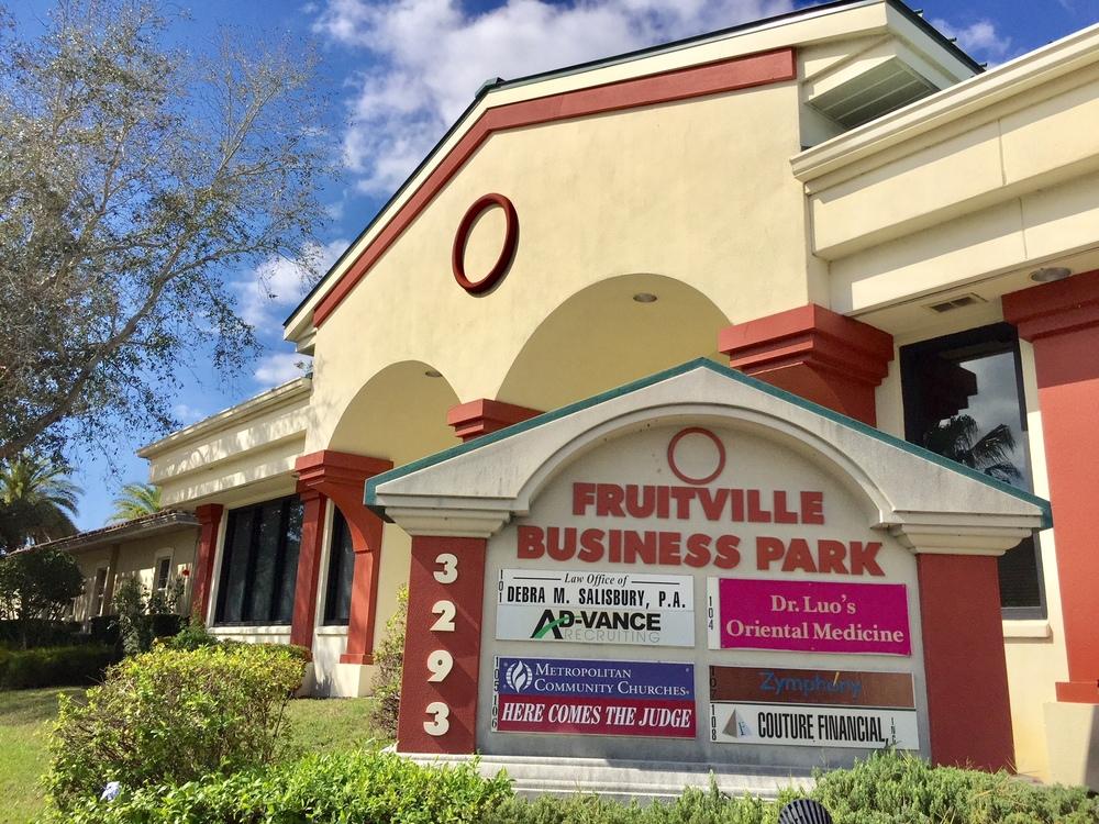 3293 Fruitville Road, Suite #105, Sarasota, FL 34237