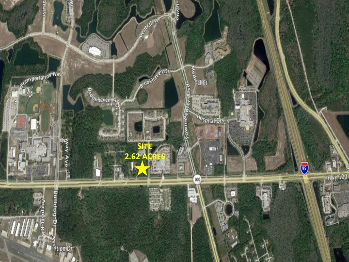 Opportunity Zone Palm Coast- 2.62 Acres Corner Parcel