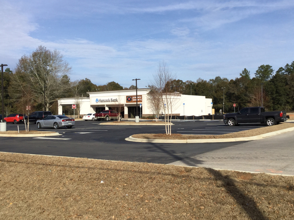 Join Hancock Bank & Jimmy John's - Pad Site Ready to Build Up to 5,400 SF - Sale, Ground Lease, or BTS