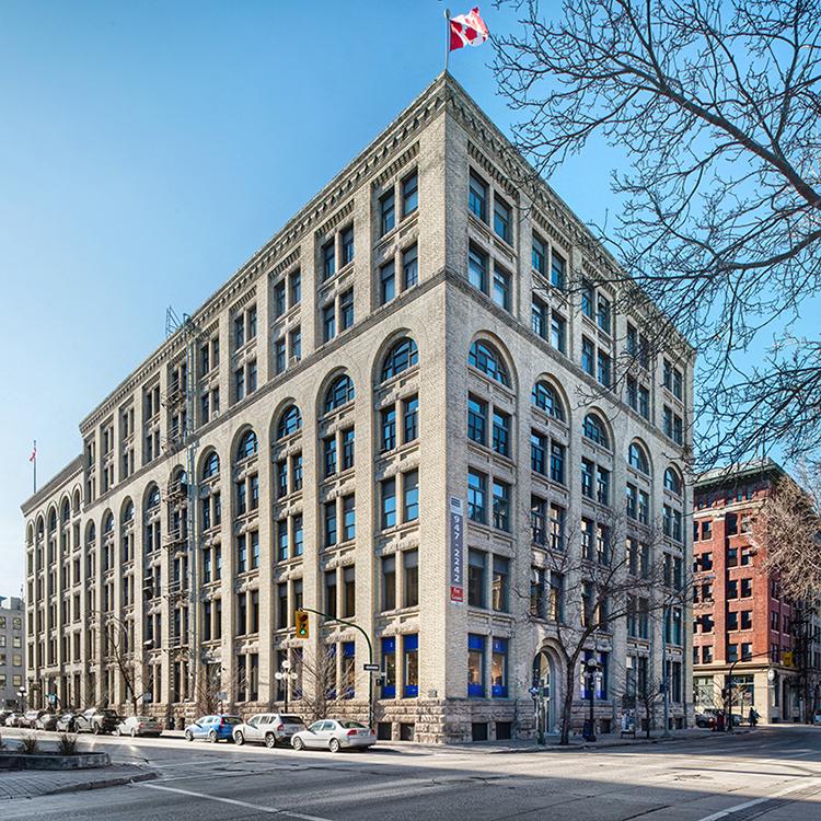 Whitla Building<br/><div>70 Arthur Street</div><div>Winnipeg, MB R3B 1G7</div>