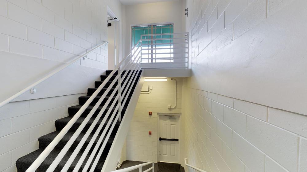 1st Floor Stairwell View