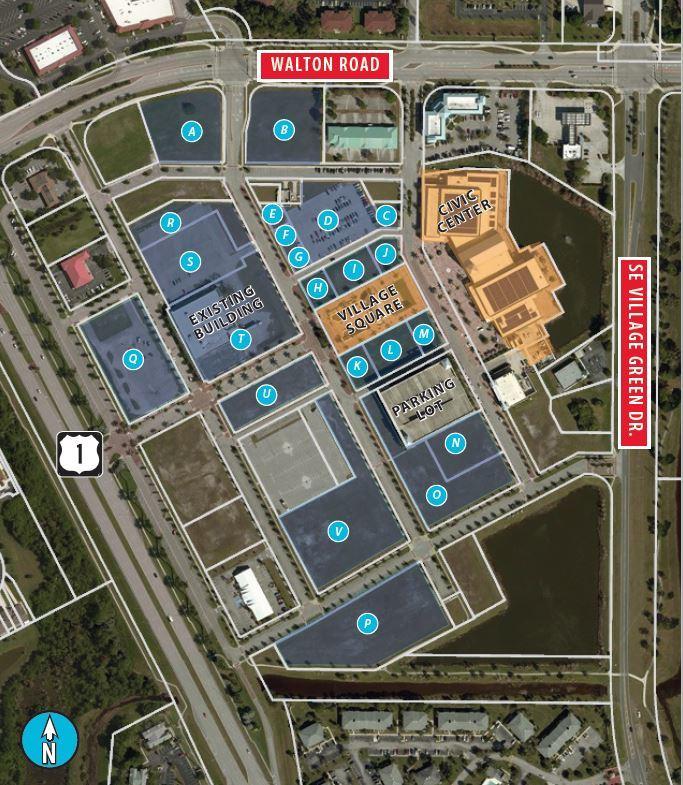 Saint Lucie City Center<br/><div>US-1, Walton Road & SE Village Green Drive</div><div>Port Saint Lucie, FL 34952</div>
