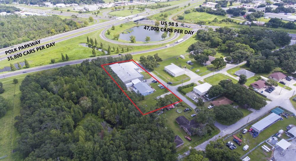 Polk Parkway / US-98 - Warehouse / Office