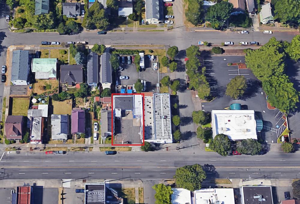 Aerial 3401 N Lombard