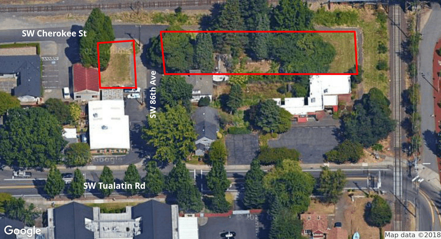 Two Office/Retail/Multi-Family Lots Available