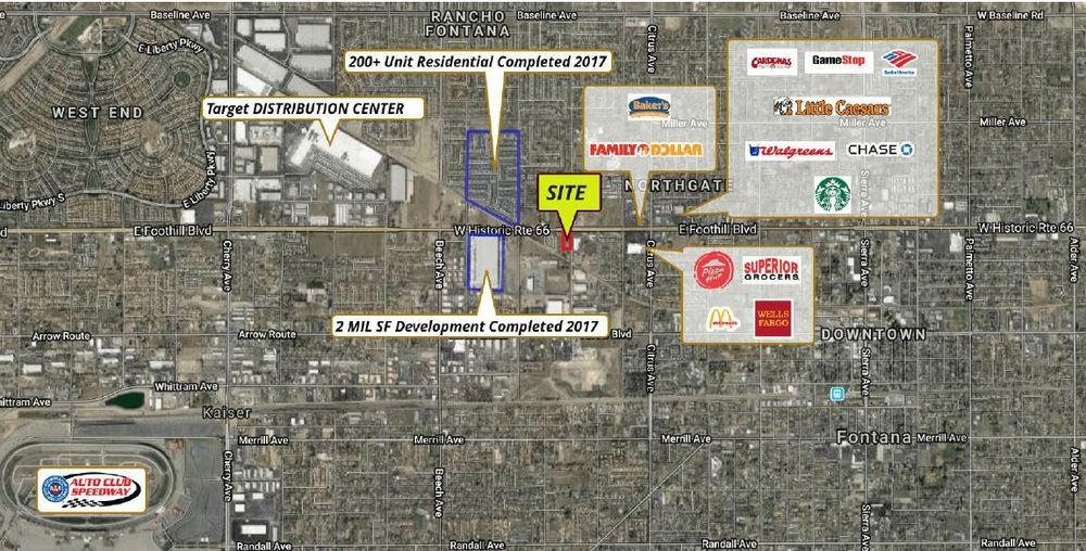 0.99 Acres on Foothill Blvd.