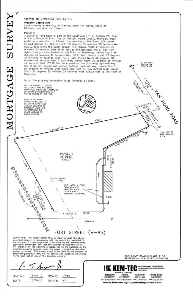 1.78 Acres Fort Street & Van Horn Road