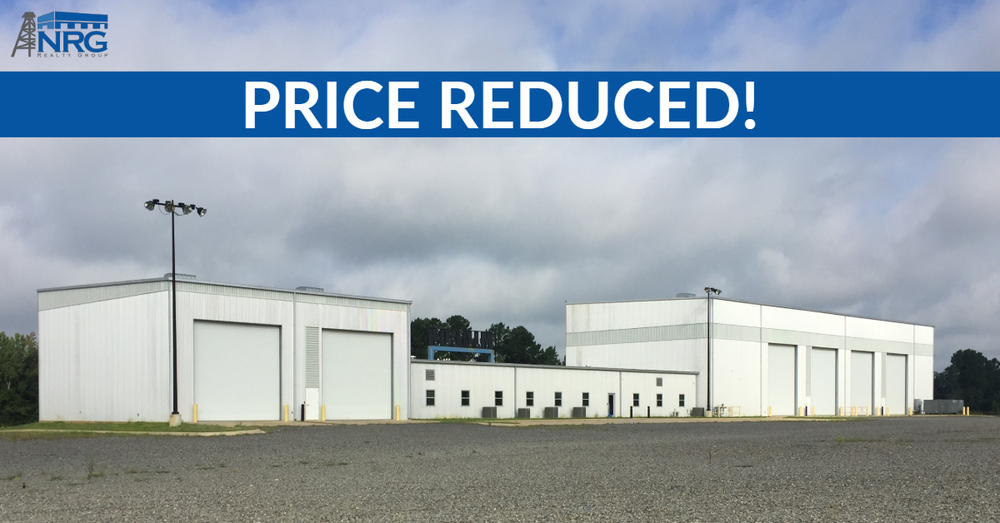 HUGE PRICE REDUCTION! Flagship Manufacturing Facility in Marshall, Texas