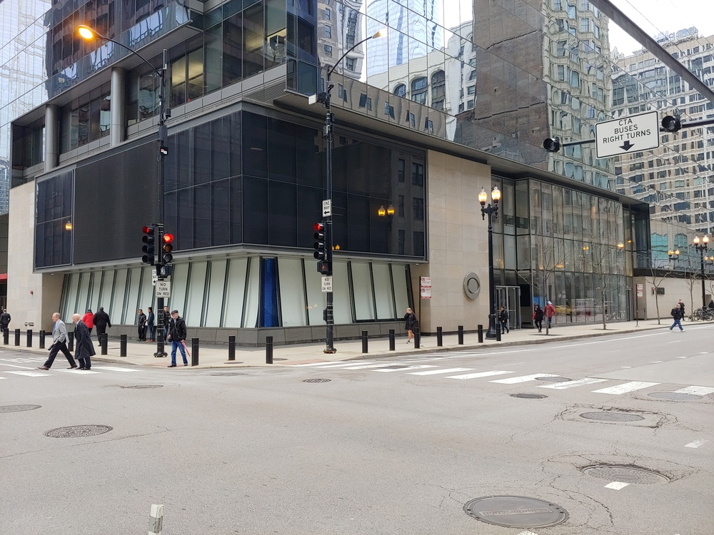 Loop Retail Space for Lease Adjacent to CBS and Block 37