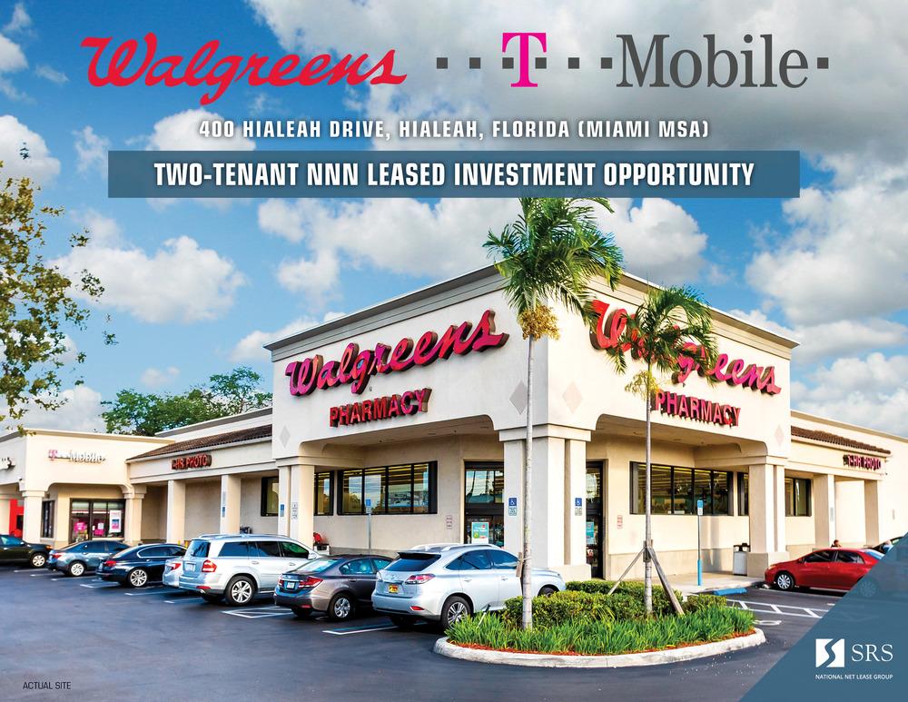 Hialeah, FL - Walgreens & T-Mobile