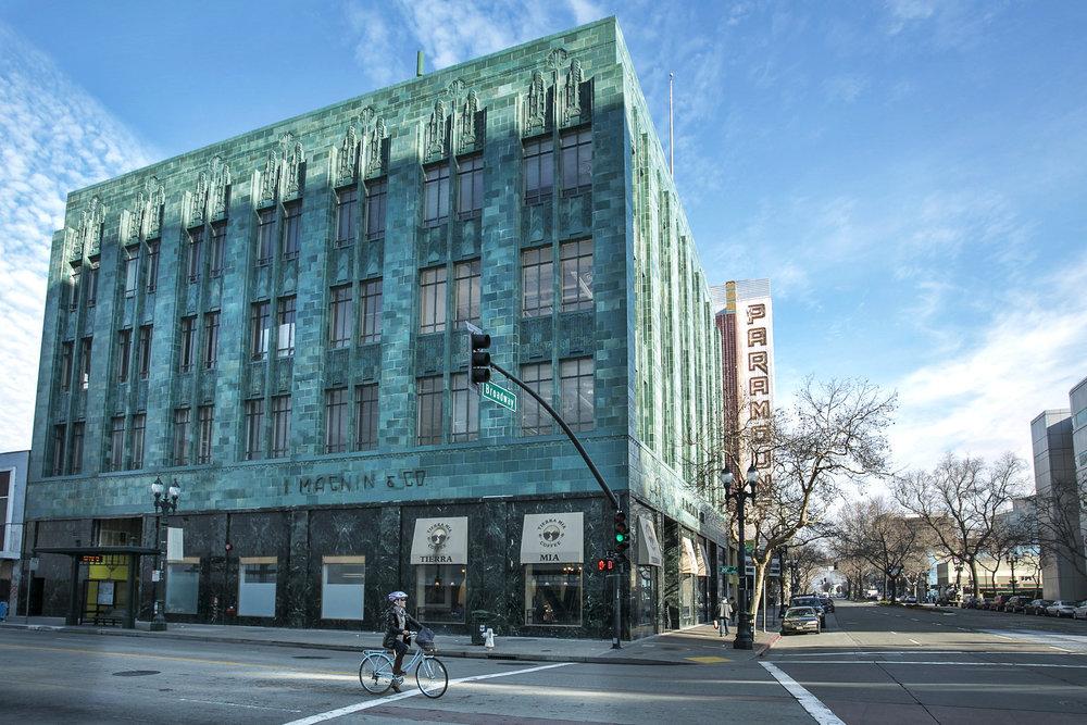 I. Magnin & Co. Building<br/><div>2001 Broadway</div><div>Oakland, CA 94612</div>