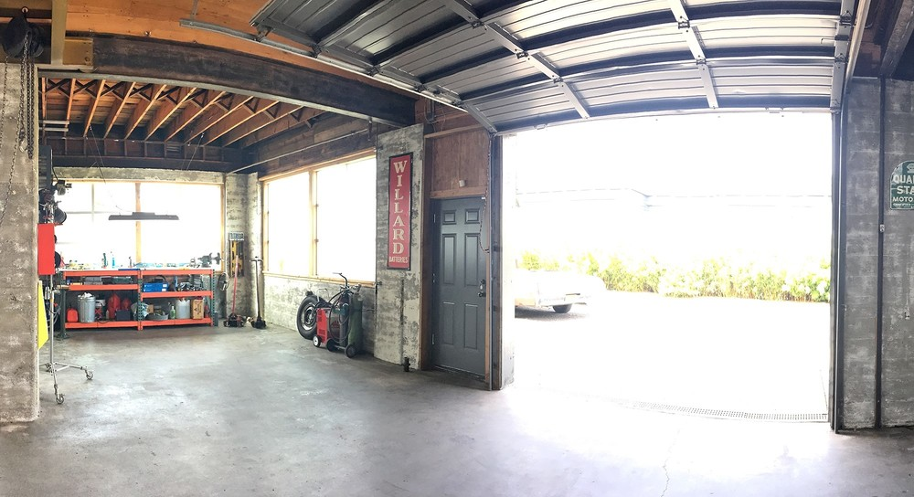 main warehouse rear grade level door