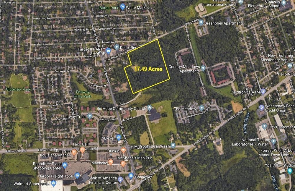 Multi-Family Development Land for Sale in Ypsilanti