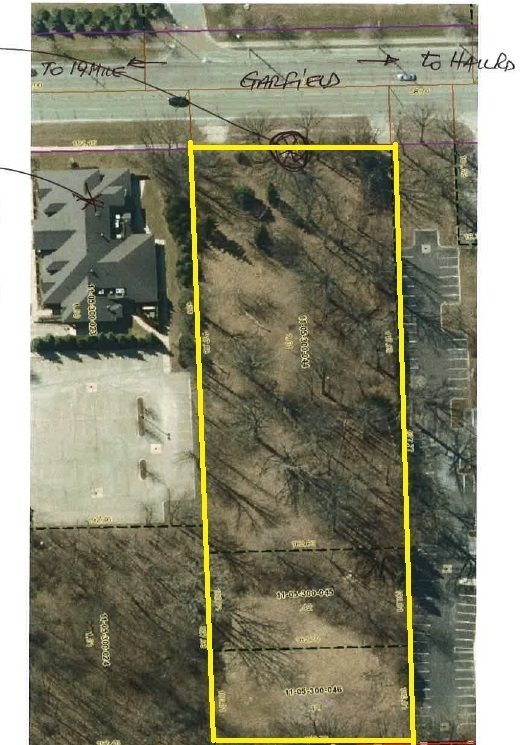 2.594 Acres of Vacant Land For Sale Garfield Road, near Hall Road