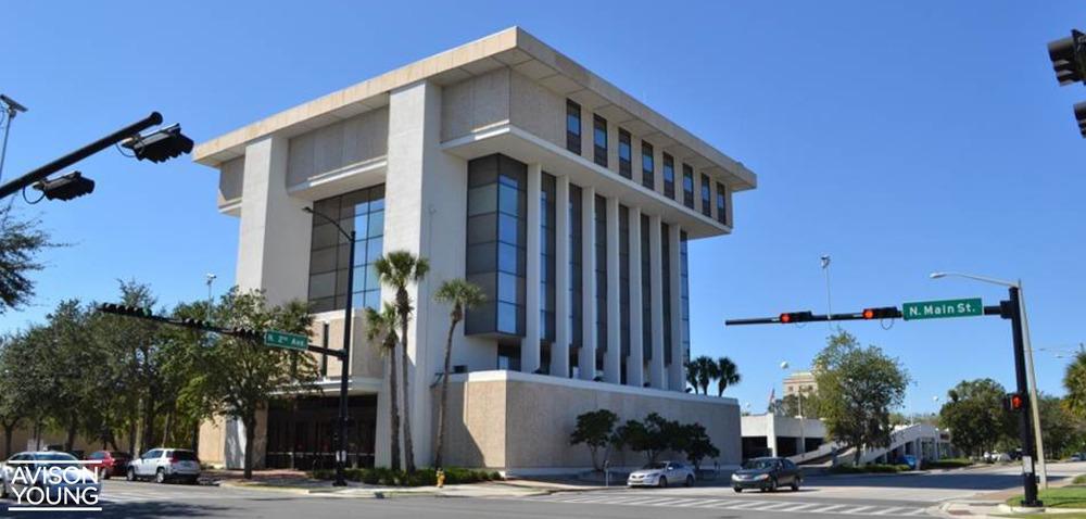 Downtown Wells Fargo Building<br/><div>104 N Main Street</div><div>Gainesville, FL 32601</div>