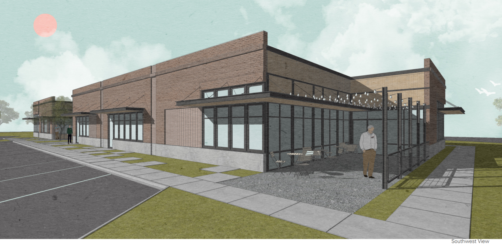 Pre-Leasing Commercial Mixed Use Building: Office & Retail