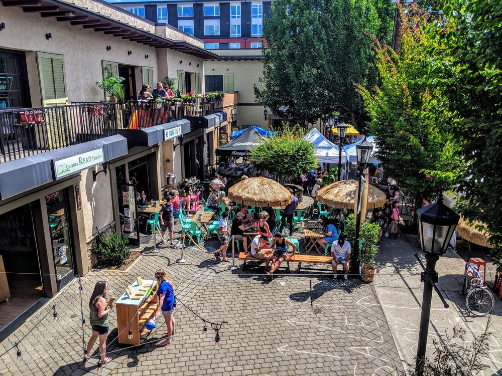 Courtyard adds value and attracts customers