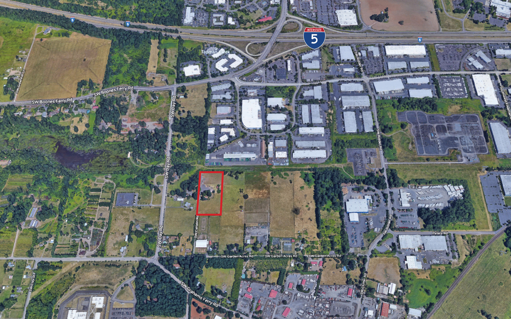 For Sale Industrial Land in Wilsonville