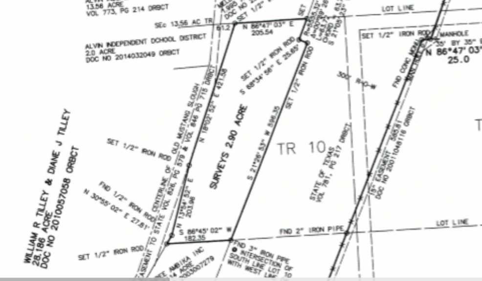 +/- 1.5 - 2.9  Acres of Land on Highway 35