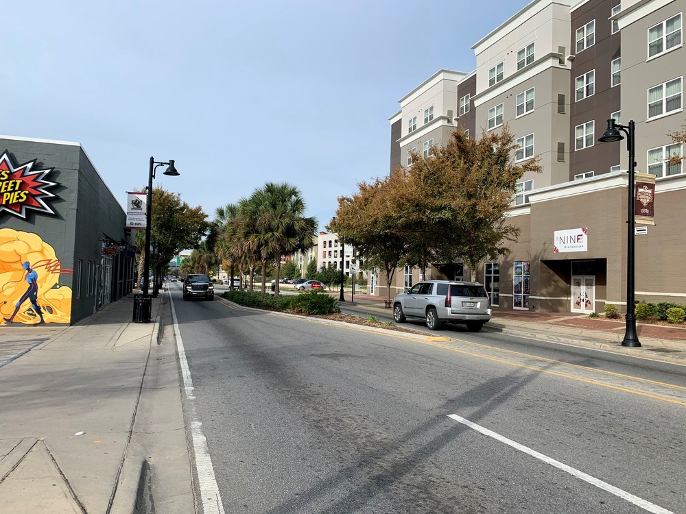 Retail at College Town