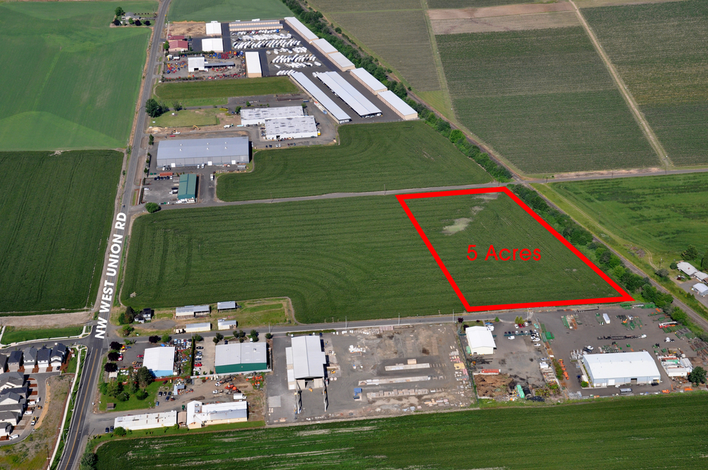 North Plains Yard for Lease