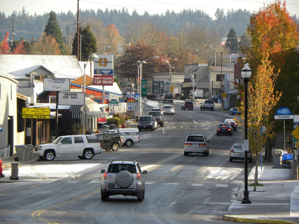 Downtown Tigard Retail for Lease