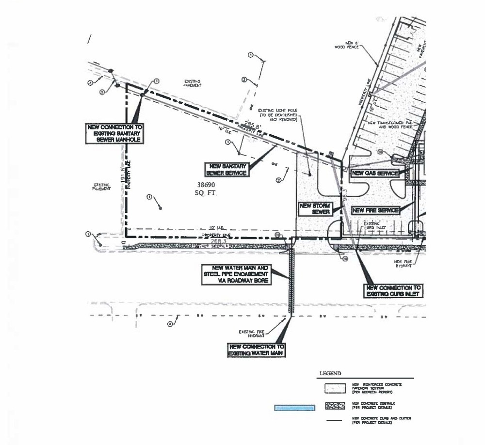 New Road Pad Site