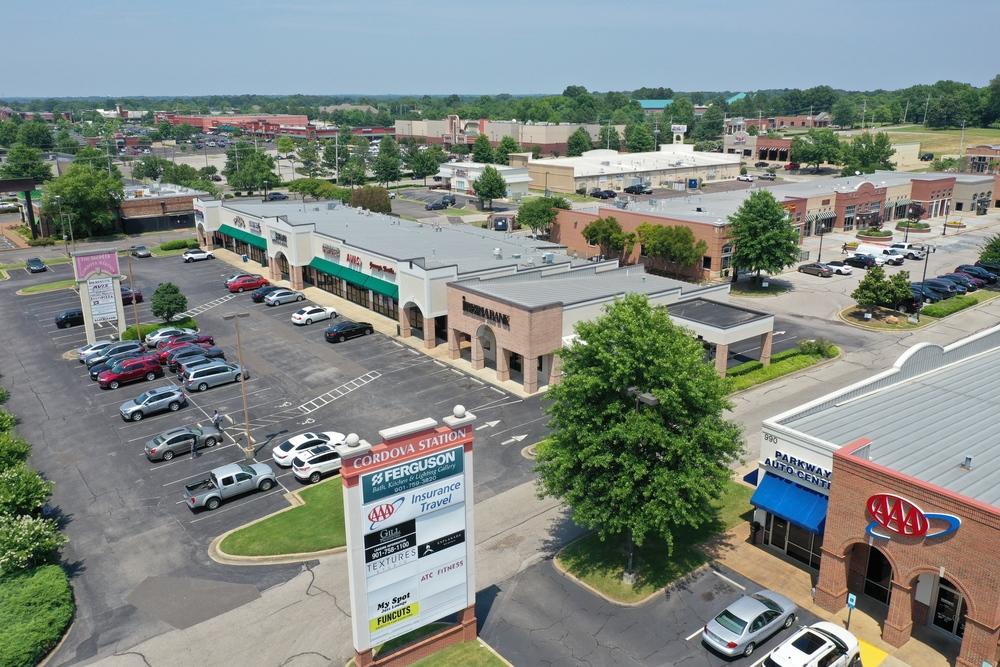 The Shops of Cordova Station<br/><div>1034 N Germantown Pkwy</div><div>Cordova, TN 38018</div>