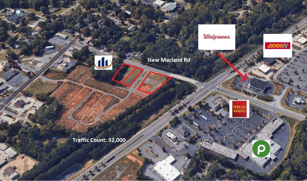Price Improvement! Fully Developed Retail Pads *As little As $200,000