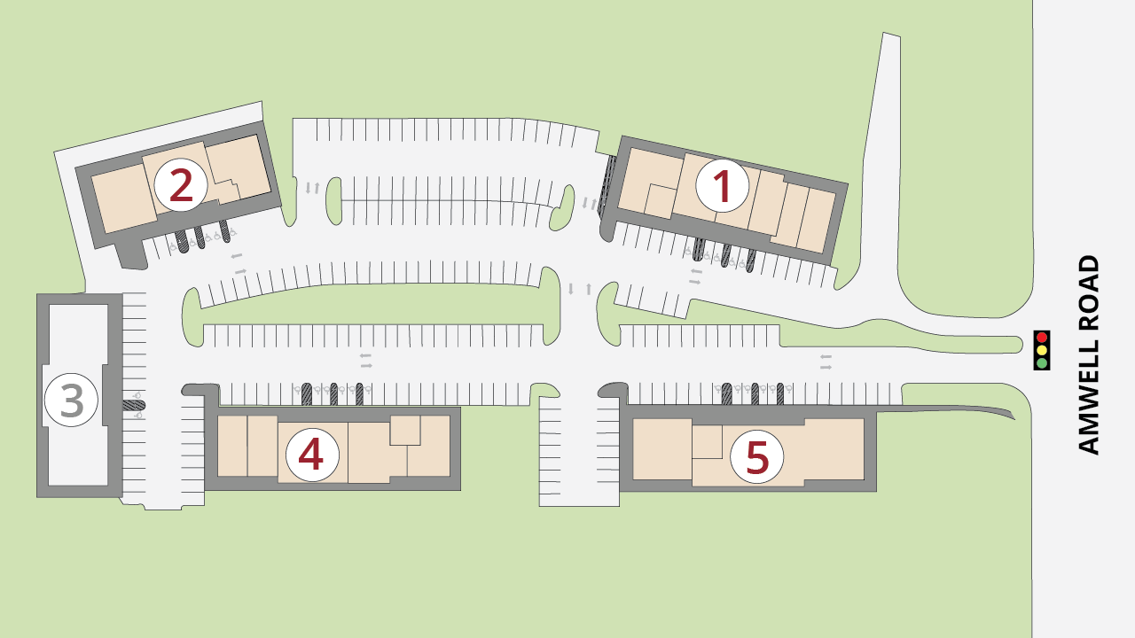 Site Plan Amwell Commons
