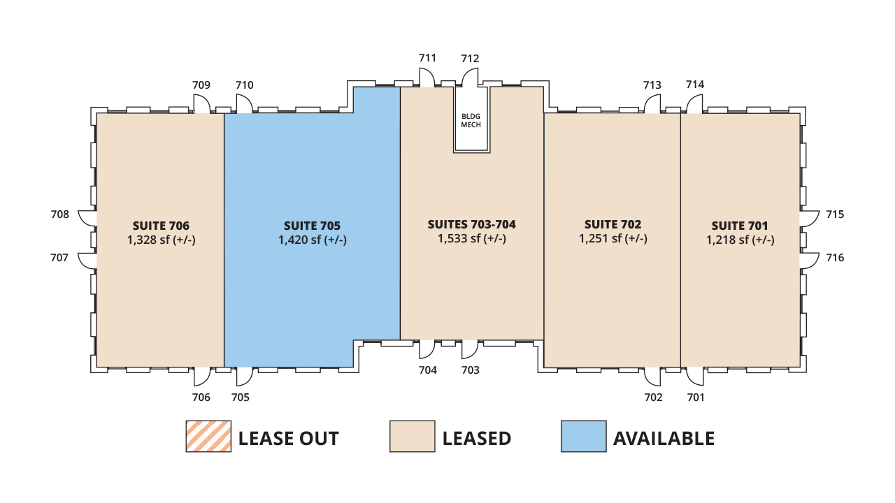 Floor Plan Building 7