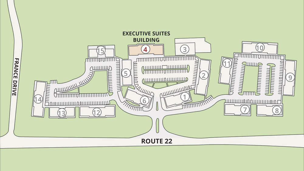 Site Plan Branchburg Executive Suites