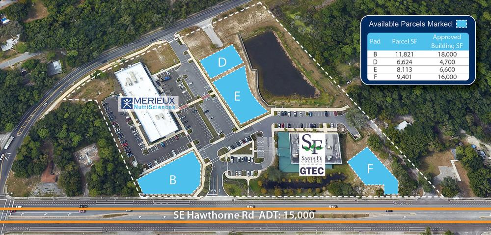 Cornerstone - Office & Retail Building Pads For Sale<br/><div> 2153 SE Hawthorne Road</div><div>Gainesville, FL 32641</div>