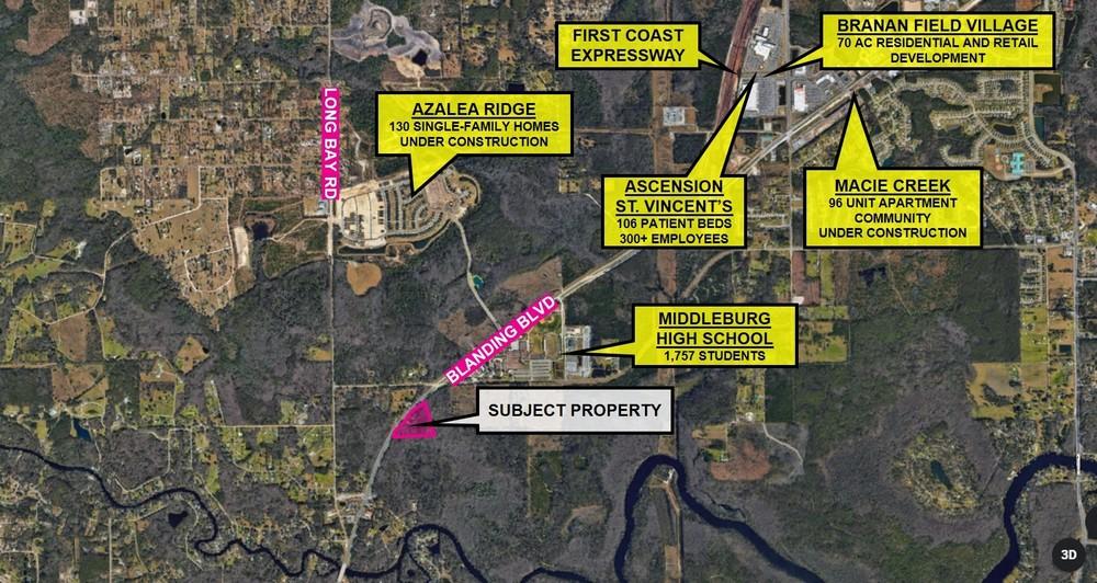 Development Opportunity on Blanding Blvd in Middleburg