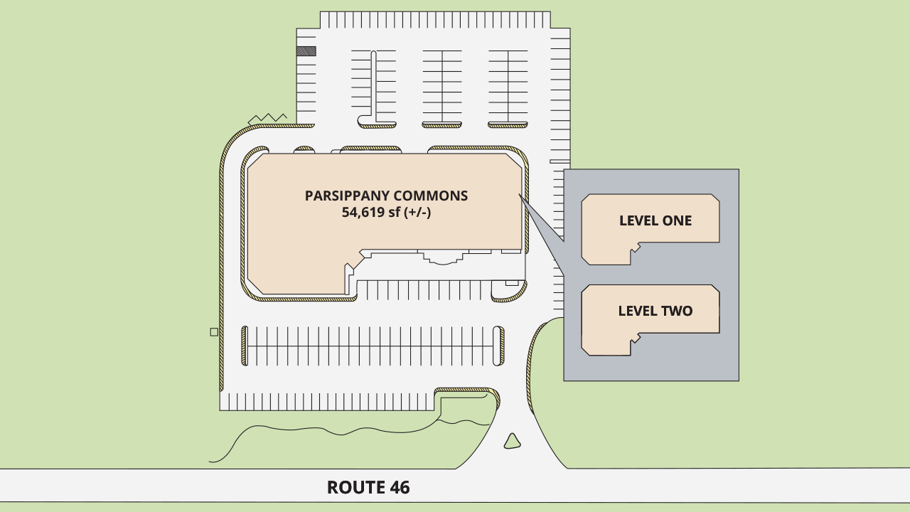 Site Plan Parsippany Commons