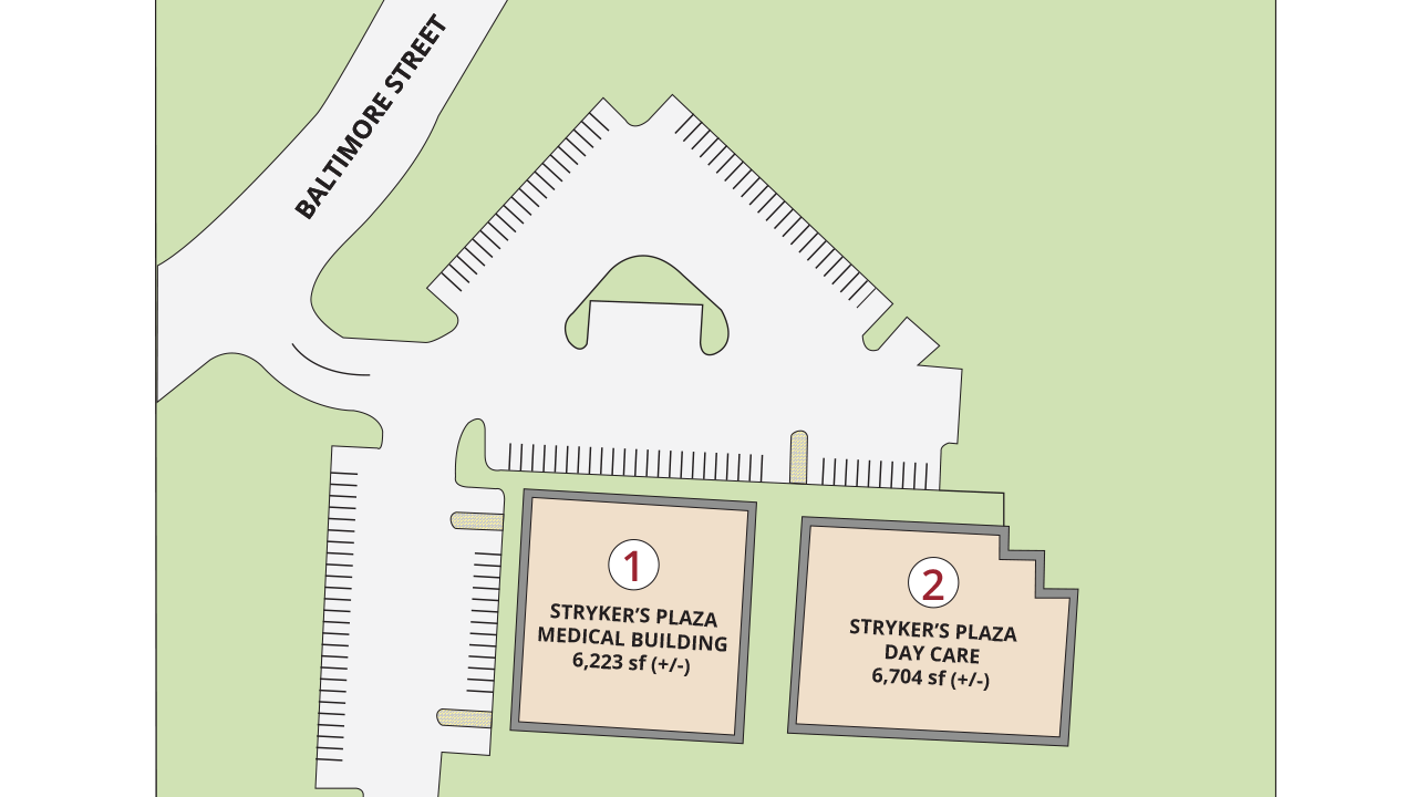 Site Plan Strykers Plaza