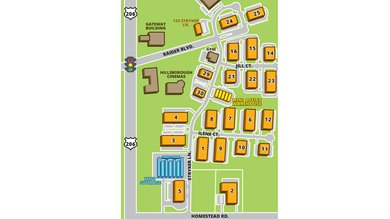 Site Plan Hillsborough Business Center