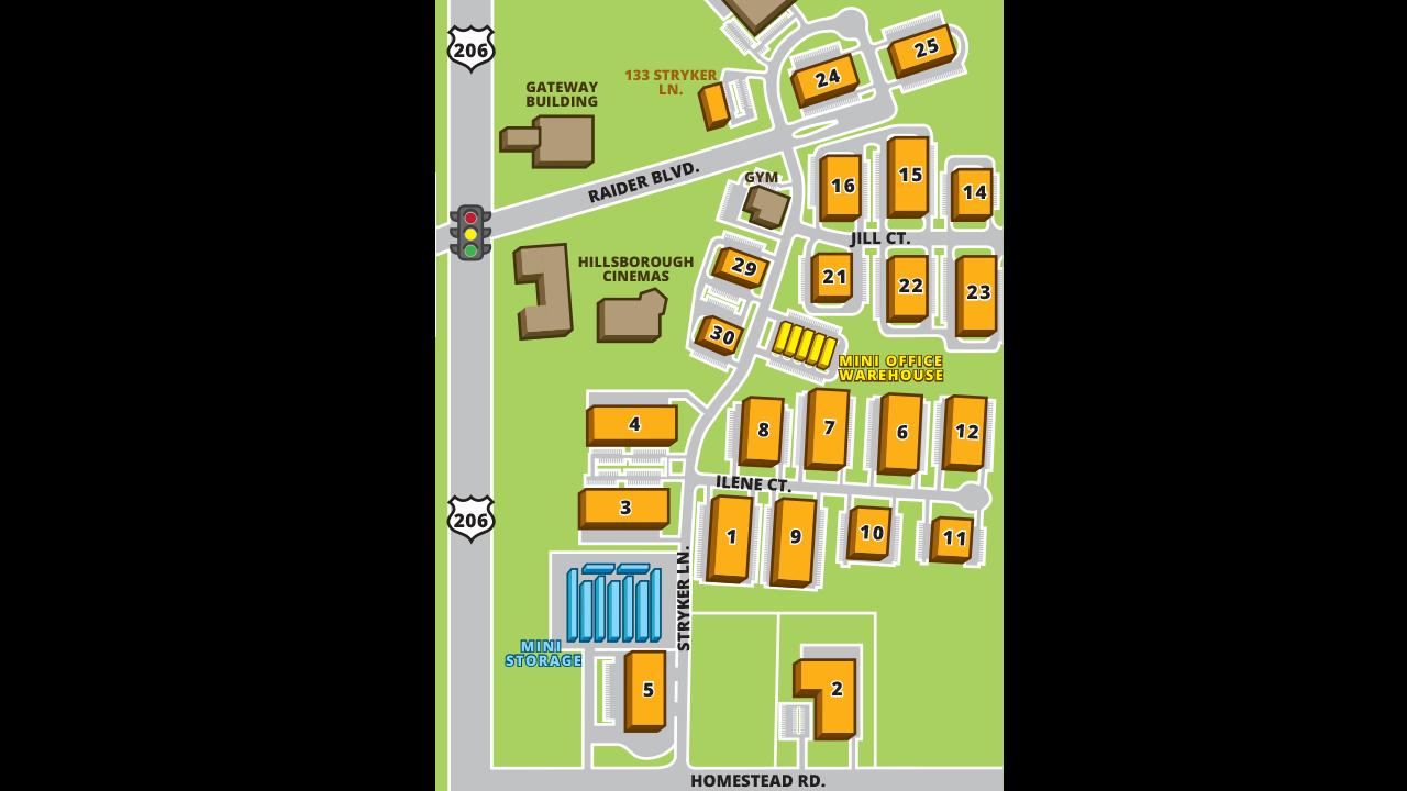 Site Plan Hillsborough Business Center
