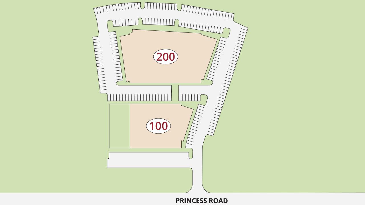 Site Plan Princess Road Office Park