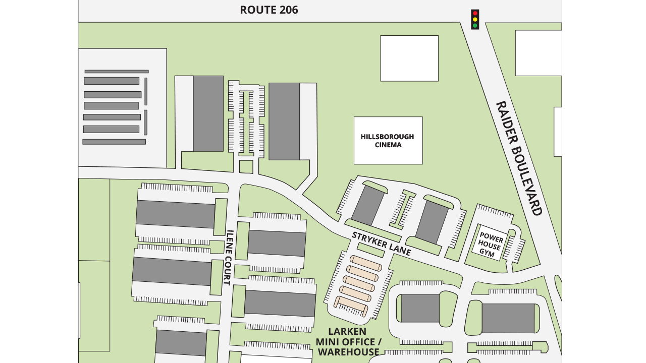 Site Plan Larken Mini Office Warehouse