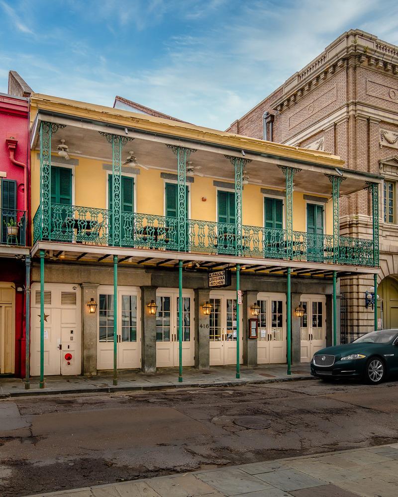 Iconic French Quarter Restaurant Building