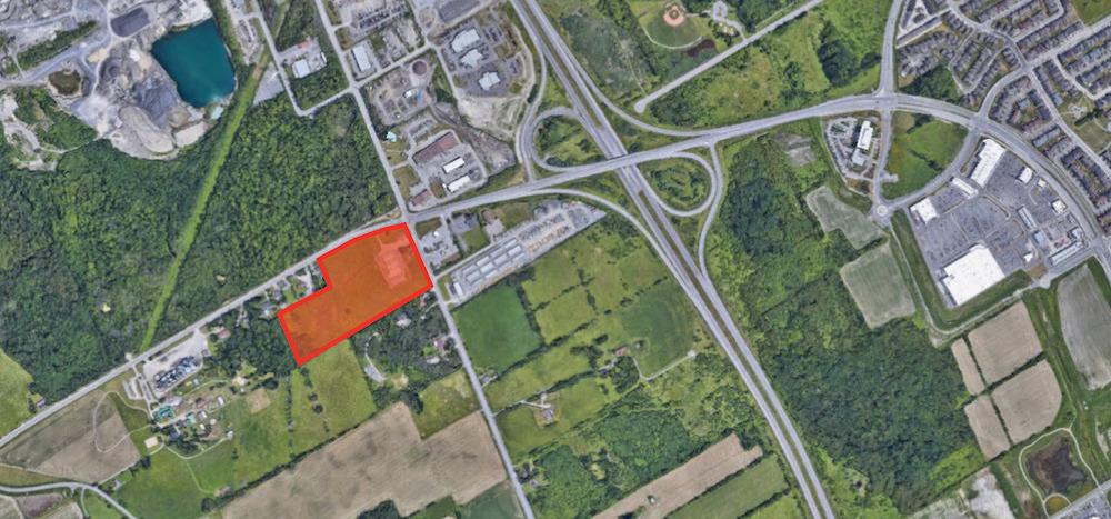 Prime Land For Sale<br/><div>2726-2732 Moodie Drive</div><div>Ottawa, ON K2J 4S7</div>
